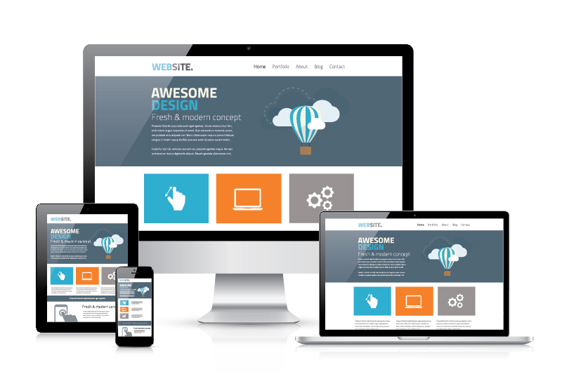 Responsive Design Web Site