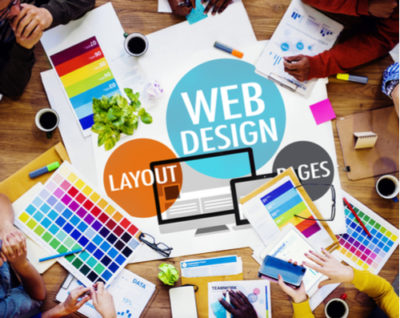 Creative website planning and design
